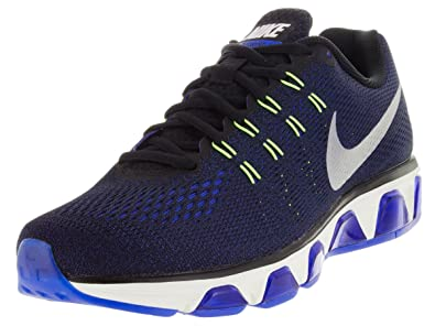great fit 335c2 ba0e6 Nike Men's Air Max Tailwind 8 Black/Blue 805941-004 (Size: 8.5)