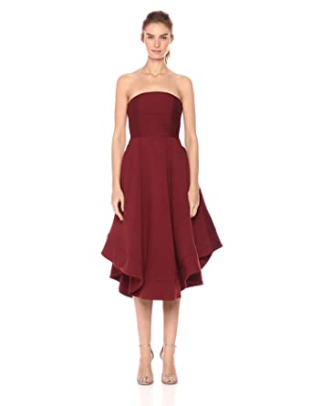 Strapless a Line Dress