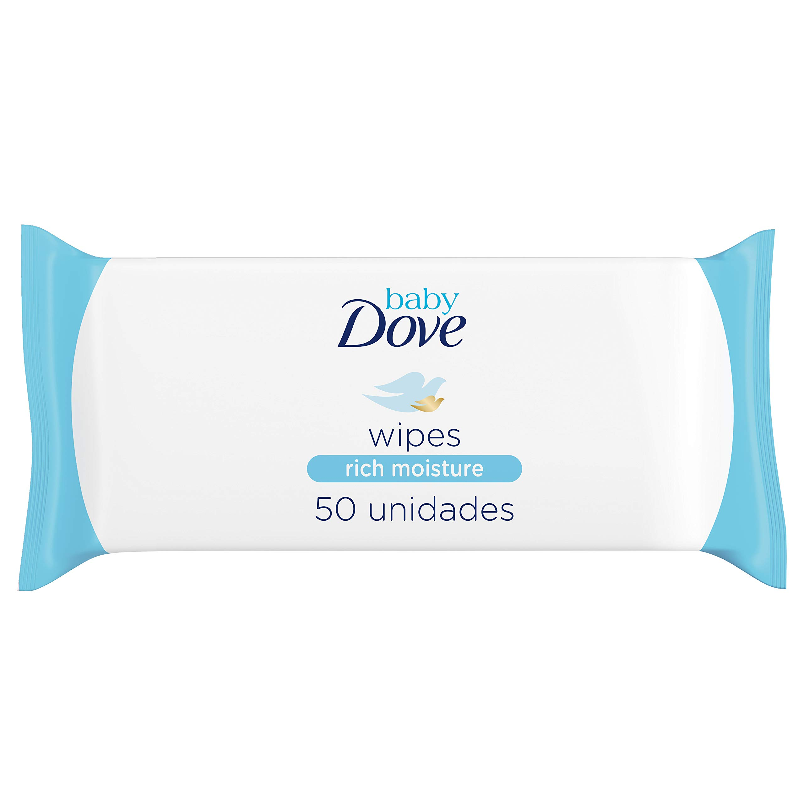 Dove Baby Wipes Rich Moisture, 50 Wipes (Pack of 6) by Dove