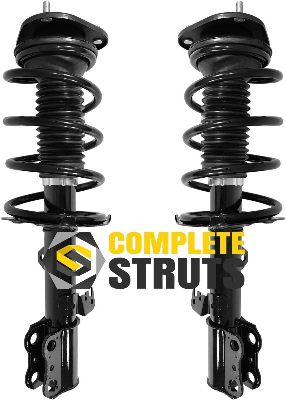 Front Quick Complete Struts /& Coil Spring Assemblies Compatible with 2005-2010 Scion tC Pair