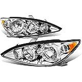 Toyota Camry XV30 Pair of Chrome Housing Amber Corner Headlights