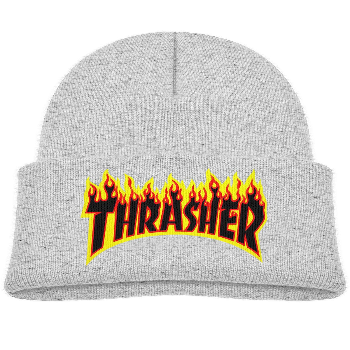 Kids Hats Hedging Thrasher Magazine Winter Warm Classic Knitted Cap Soft Beanies