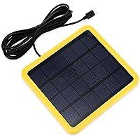 KK.BOL Lámpara Solar Portátil Bombilla LED Panel Solar Recargable Solar Led Luces Lámpara para Interiores Exteriores Luz…