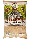 24 Mantra Organic Sonamasuri Brown Raw Rice, 5kg