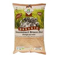 24 Mantra Organic Sonamasuri Raw Rice Brown Organic, 5kg