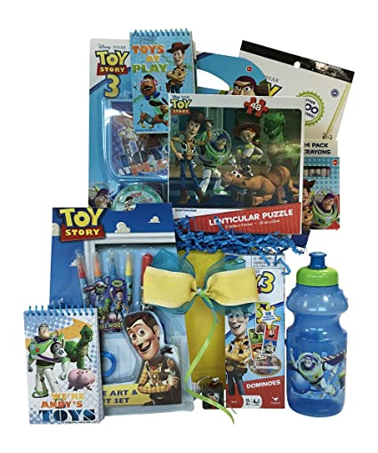 Amazon easter gift baskets for kids under 8 ideal get well or easter gift baskets for kids under 8 ideal get well or birthday toy story gift negle Gallery