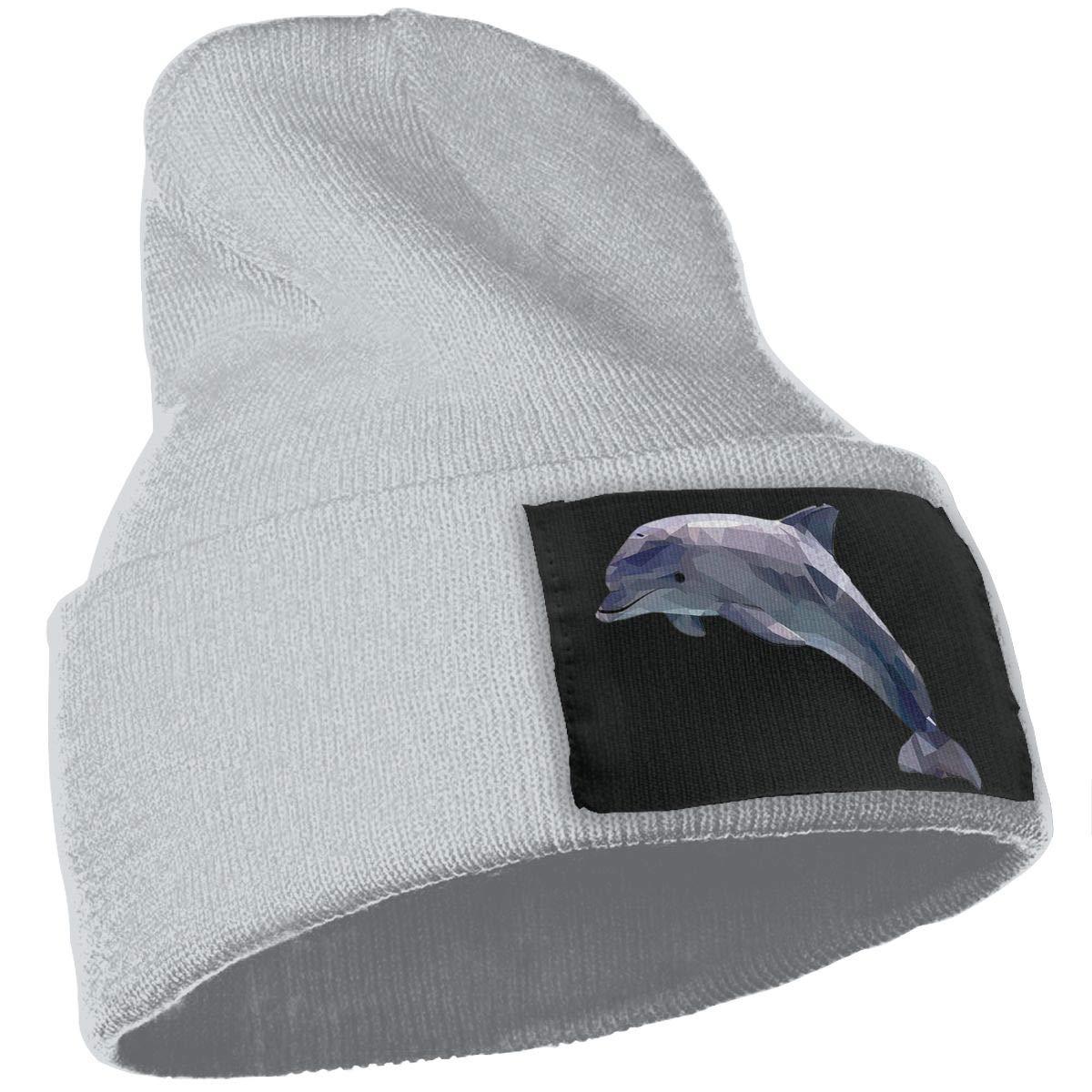 Dolphin Warm Winter Hat Knit Beanie Skull Cap Cuff Beanie Hat Winter Hats for Men /& Women