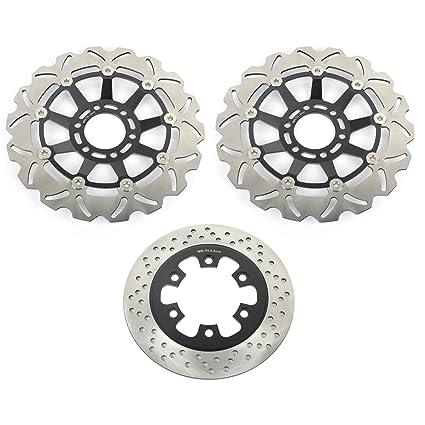 Amazon com: TARAZON Front and Rear Brake Rotors Discs for
