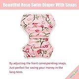 babygoal Reusable Swim Diaper for Girls, One Size