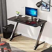 "Eureka Ergonomic 43"" Small Gaming Desk - Black"