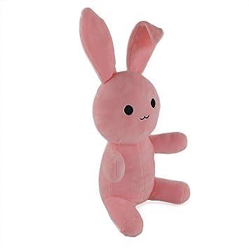 Wewill marca Peluche de Peluche Conejo de Pascua Conejo de Pascua con Orejas Largas Doblado,