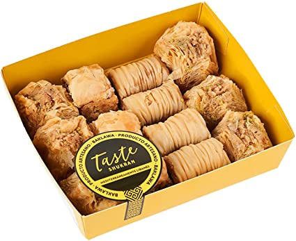 Taste Shukran Baklava - 2 Paquetes de 300 gr - Total: 600 gr
