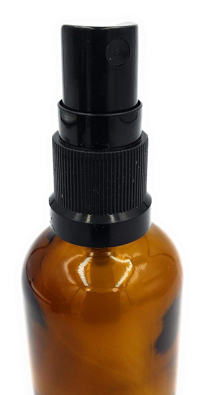1cd730ddfefd 50ml. Glass Bottles Amber Kingston With Mist Sprayer / Atomiser Cap ...