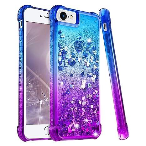 coque iphone 8 brillant violet