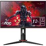 "AOC 24G2U5/BK Monitor - Pantalla para PC de 24"" Full HD e-Sports (IPS, 1ms, AMD FreeSync, 75 Hz, Sin Marco, Ajustable en…"