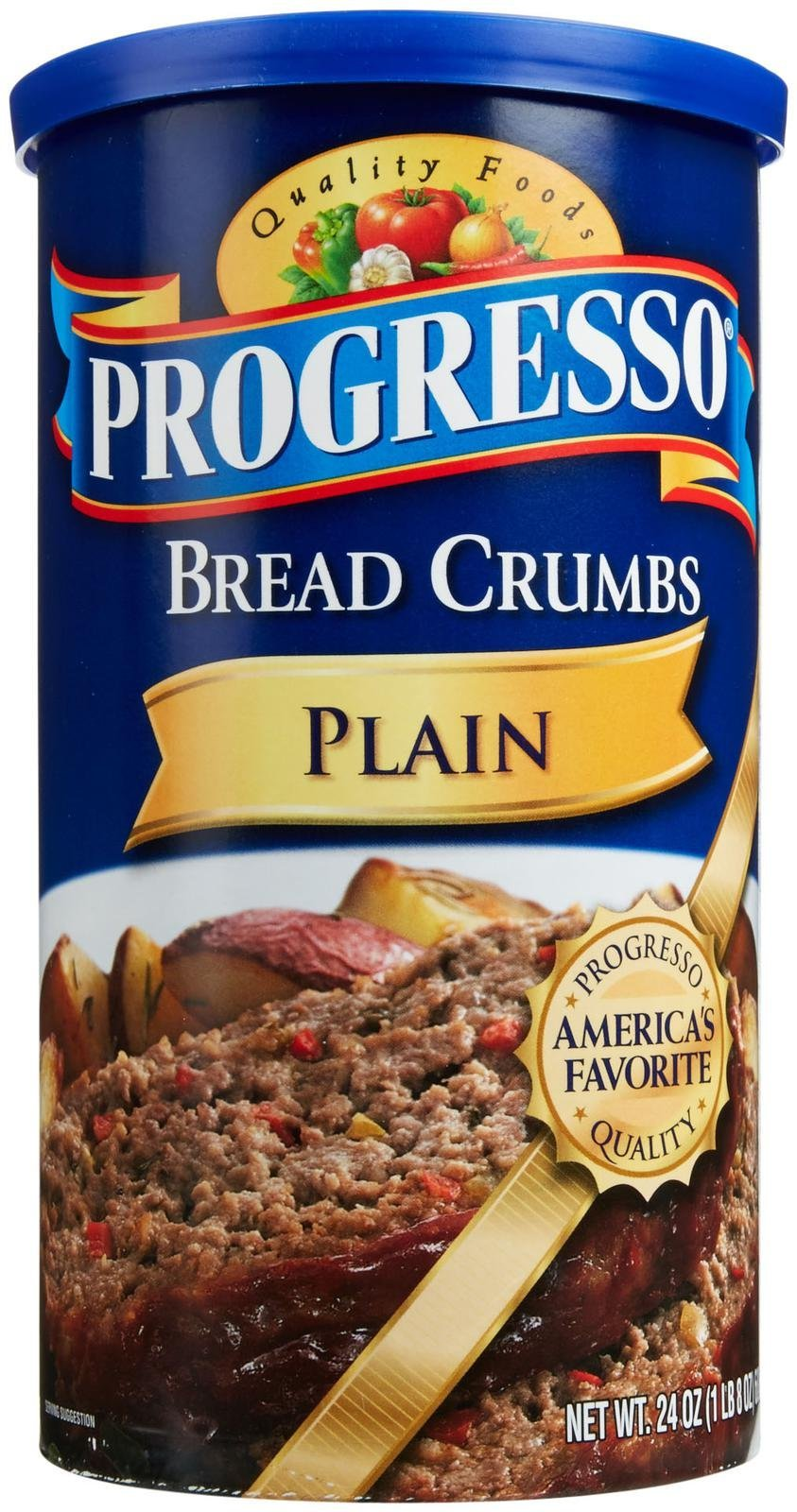 Progresso Bread Crumbs - Crispy Plain - 24 oz