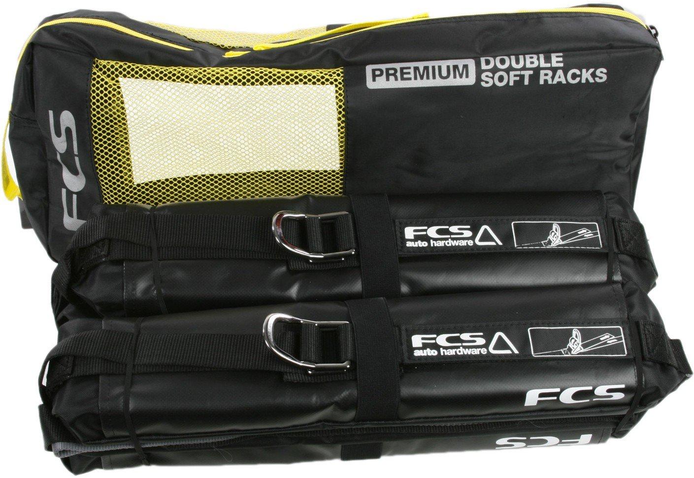 FCS Premium Double Soft Surfboard Car Racks 1900-550-00A