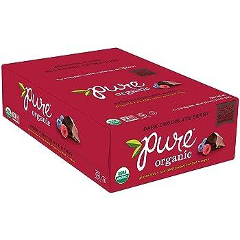 4. Pure Bar Dark Chocolate Berry Bars (Pack of 12)