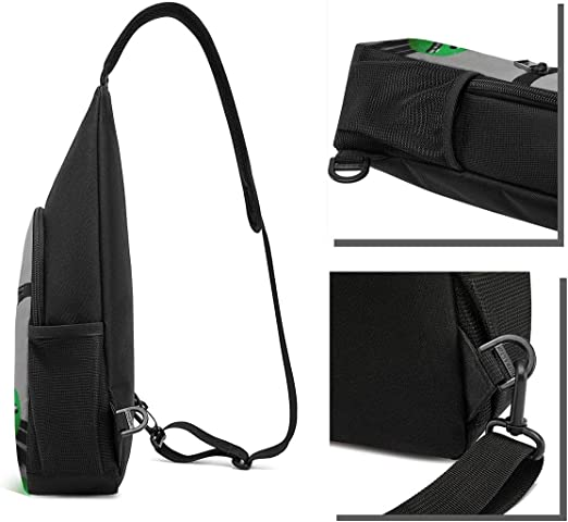 Travel//Hiking Chest Sling Bag Crossbody Backpack Casual Daypack Backpacks for Mens and Womens One Piece Roronoa Zoro Shoulder Bags