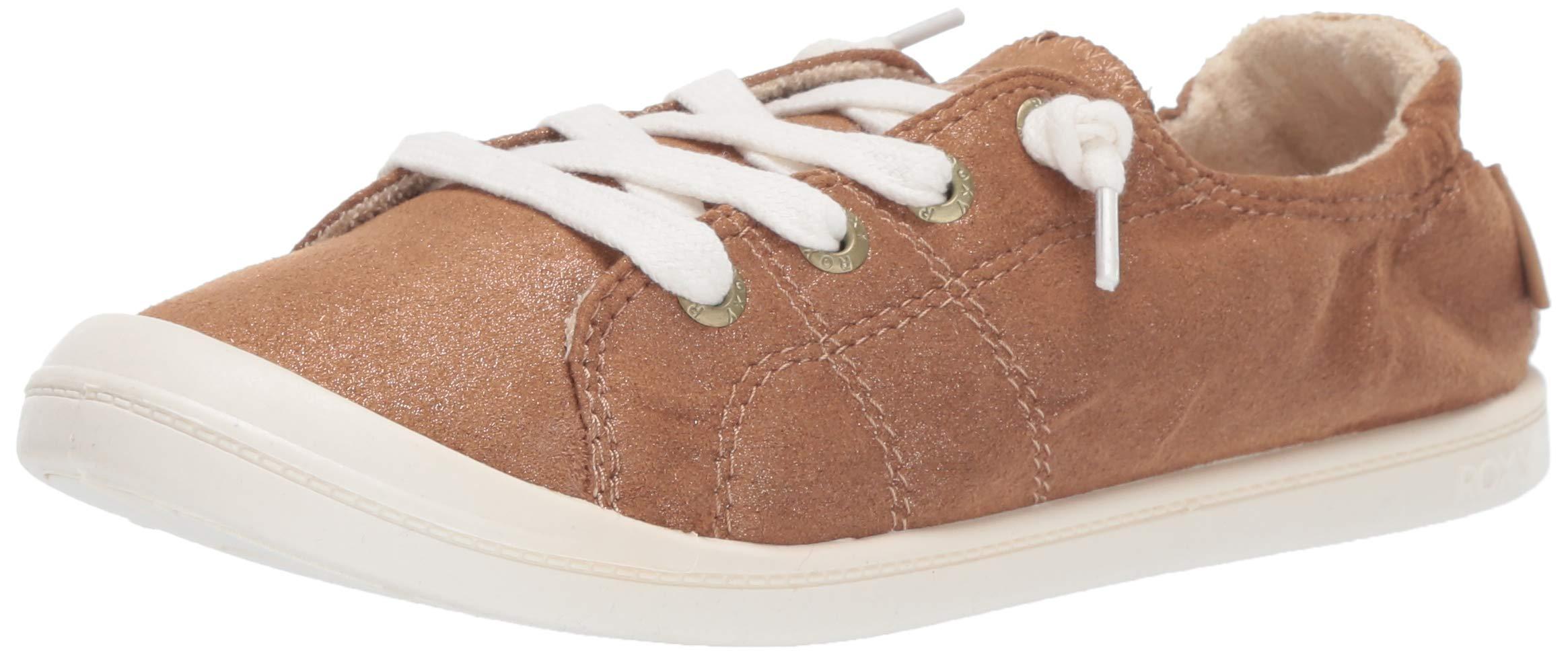 Roxy Women's Bayshore Slip on Shoe Sneaker, Bronze, 10 M US