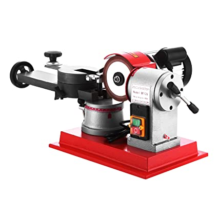 MosaicAL 370W Circular Saw Blade Sharpener 2850PRM Rotary Angle Heavy Duty  Mill Grinding Sharpening Machine 125mm Saw Blades Sharpener Machine for