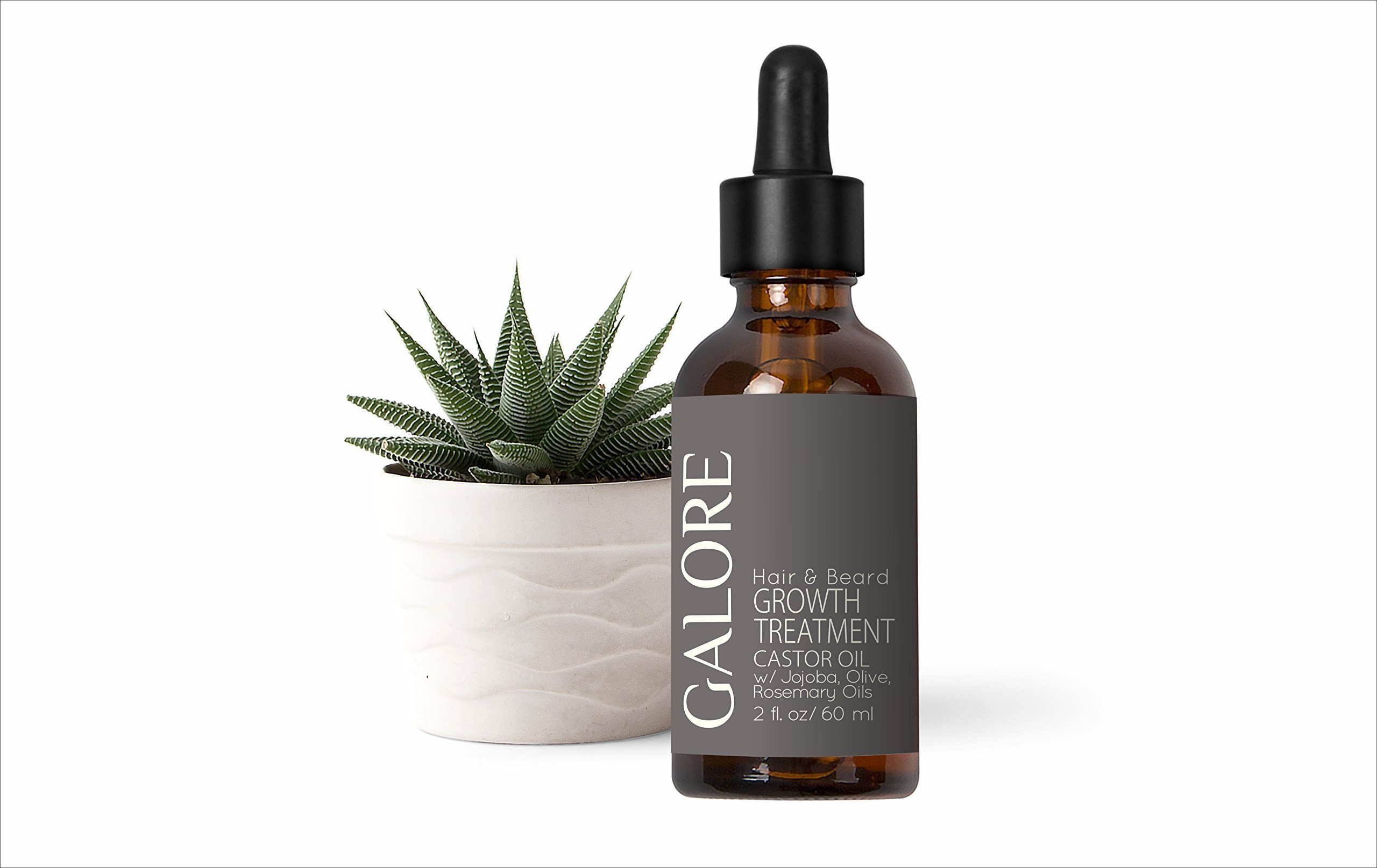 Hair & Beard Growth Treatment Castor Oil