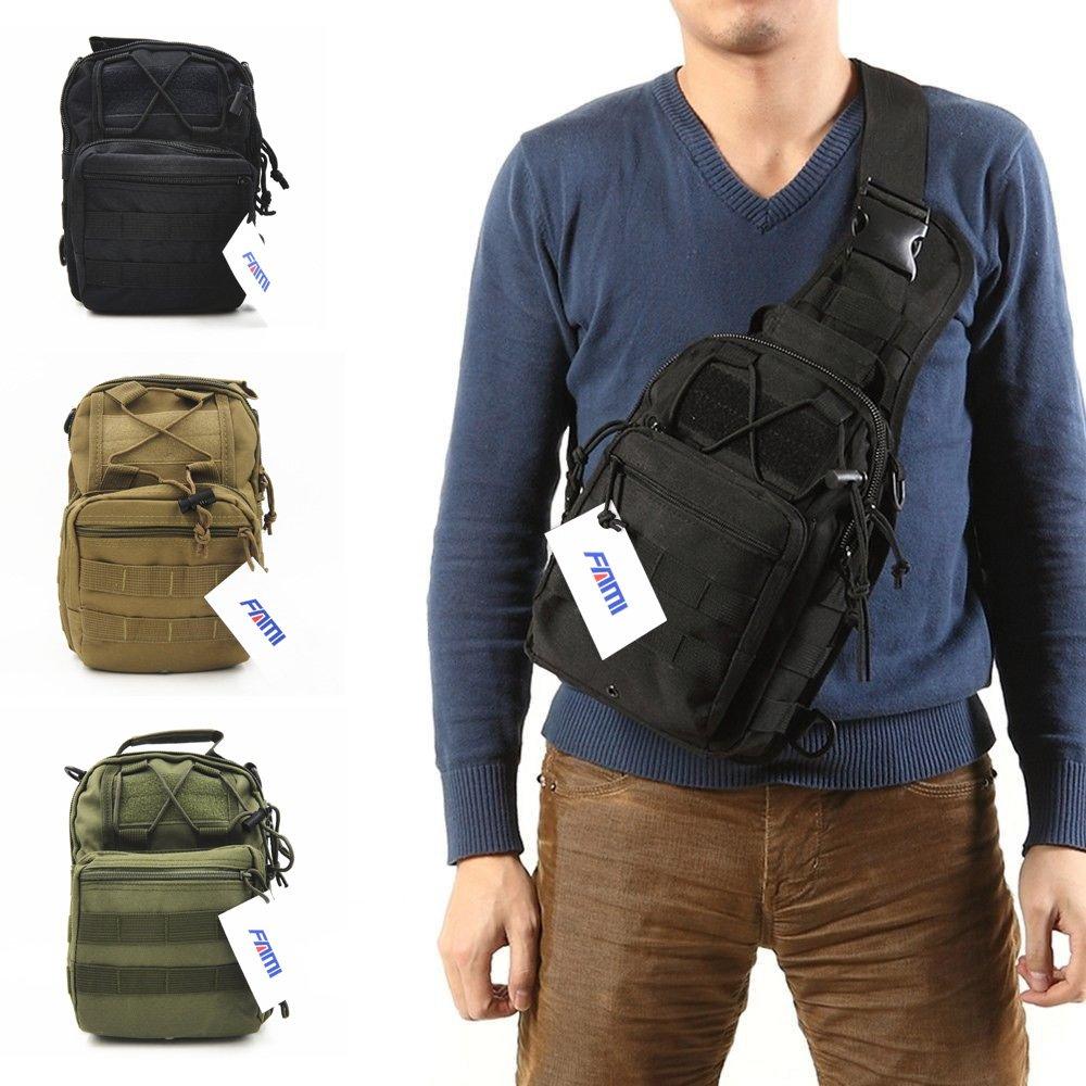 fami outdoor tactical shoulder backpack military amp sport