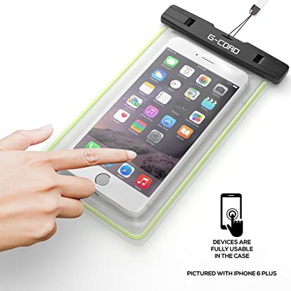 Amazon.com: G-Cord Universal Waterproof Phone Case IPX8 ...
