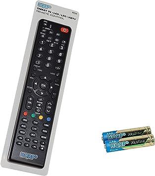 HQRP Mando a distancia universal para televisores de Panasonic TX-55CX740E / TX-49CX740E / TX-65CR730E / TX-55CR730E / TX-65CX700E / TX-55CX700E LED TV: Amazon.es: Electrónica