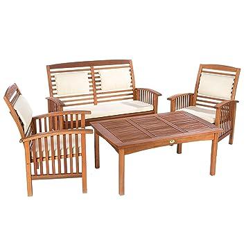 Ultranatura serie Canberra- Set de mobiliario exterior 4 ...