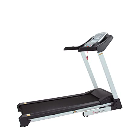 side facing sunny health & fitness sf-t7515 treadmill