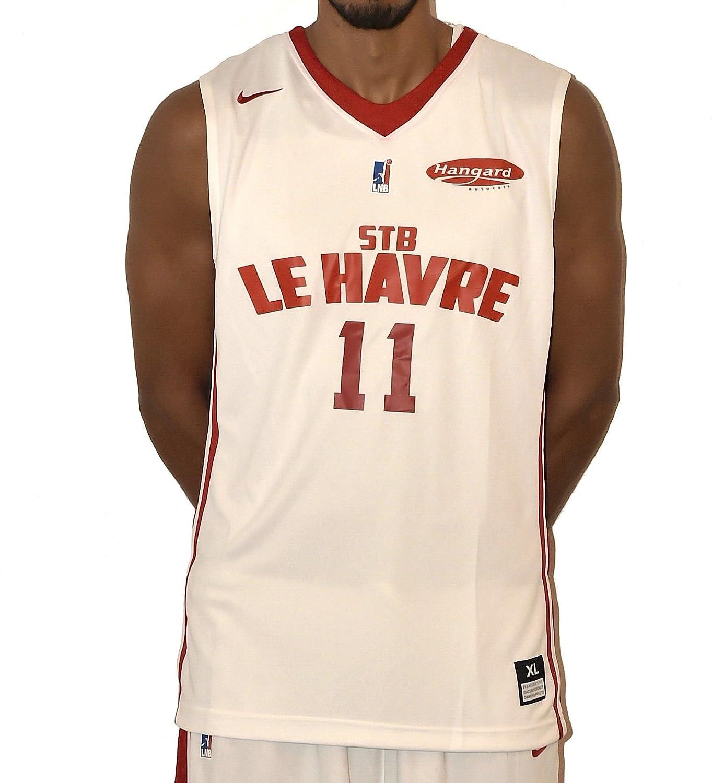 Nike Baloncesto hogar STB Le Havre 2017 – 2018 – Camiseta de ...