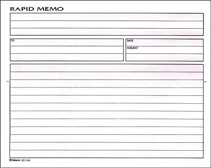 adams rapid memo book 825 x 85 inch 2 part carbonless