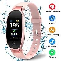 Reloj inteligente deporte Fitness Tracker de actividad reloj impermeable IP67pulsera inteligente podómetro calorías sommeil-bluetooth 4.0Smart–Rastreador de actividad para mujer hombre deporte/Android y iOS portátil–se vende por udenx