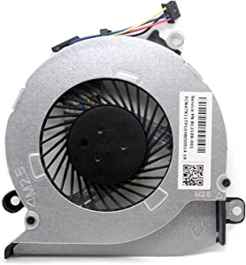 SWCCF CPU Fan for HP Pavilion 17-G121WM 17-G101DX 17-G103DX 17-G113DX 17-G119DX 17-G141DX 17-G148DX 17-G151DX 17-G192DX 17-G053US 17-G061US 17-G153US 17-G161US 17-G199NR 17-G192NR 17-G167NR