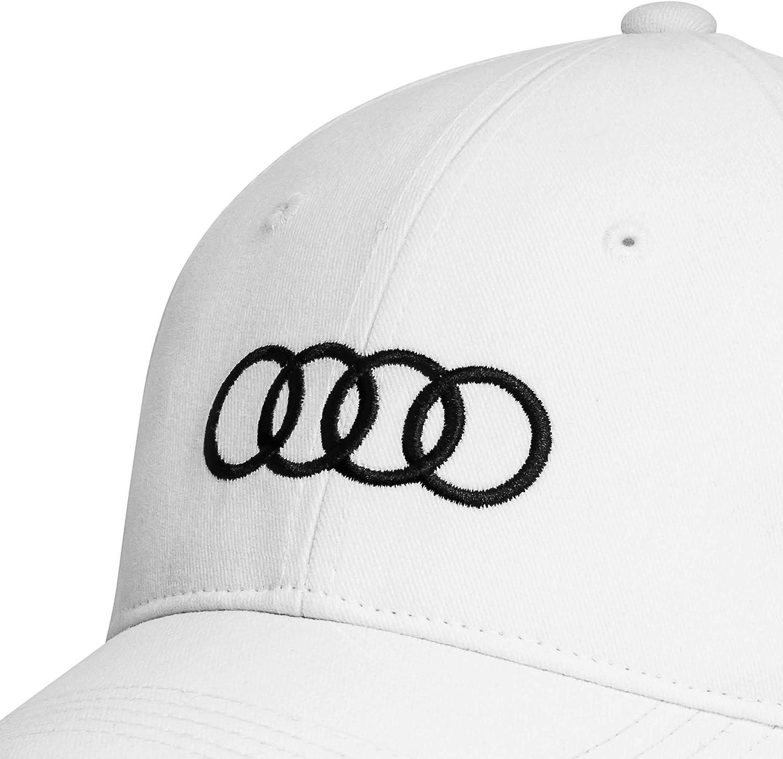 Audi Quattro Unisexe Snapback Baseballcap Cap Capuchon Chapeau Noir Gris
