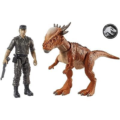 """Jurassic World Story Pack Stygimoloch """"Stiggy"""" & Mercenary: Toys & Games"""