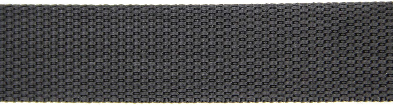 schwarz, 40 NTS-N/ähtechnik 25m Gurtband aus 100/% Polypropylen