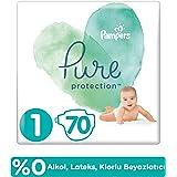 Prima Pure Bebek Bezi 1 Beden 70 Adet, Beyaz