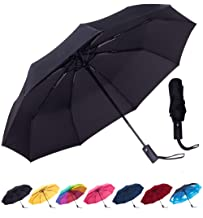 Rain-Mate Compact Travel Umbrella - Windproof