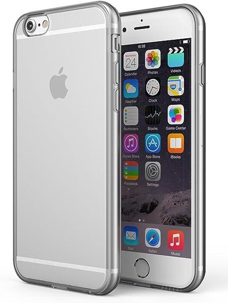 Cover custodia con sportello trasparente per Apple iPhone 6/6S