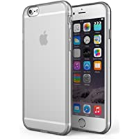 SDTEK Coque iPhone 6 / 6s, iPhone 6 / 6s Housse [TRANSPARENTE GEL] Silicone Case Cover Crystal Clair Soft Gel TPU pour iPhone 6 / 6s