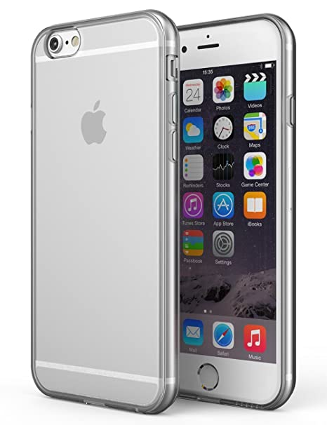 13bdeae0747 SDTEK Case for iPhone 6   6s Clear Gel Transparent Soft  Amazon.co.uk   Electronics