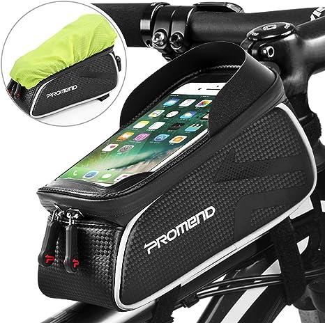 TEUEN Soporte Movil Bicicleta Aluminio Soporte Telefono Moto ...