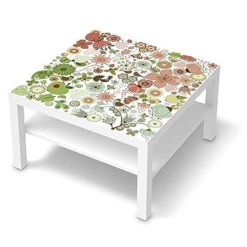 Möbel Sticker Folie Für Ikea Lack Tisch 78x78 Cm Dekor Muster