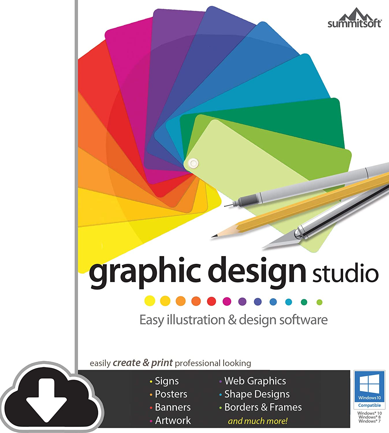 Amazon Com Graphic Design Studio Pc Download Software