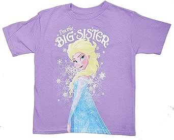 Disney Frozen Elsa I'm The Big Sister Kids T-Shirt