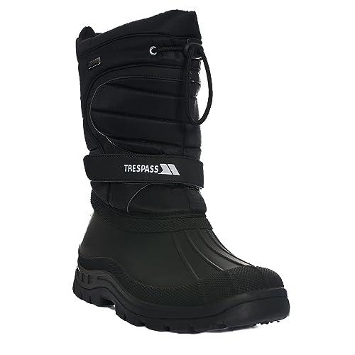 Trespass Yetti, Botas de Nieve para Hombre, Negro, 41 EU (7 UK)