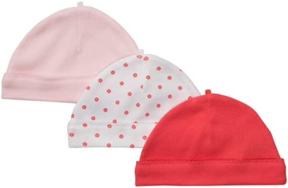 e23e12a08 Amazon.com: Carter's Baby Boys' 3-Pack Cap: Infant And Toddler Hats:  Clothing