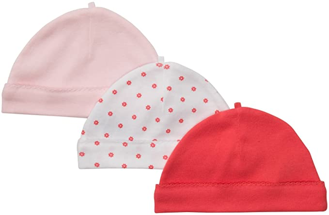 Amazon.com  Carter s Baby Boys  3-Pack Cap  Infant And Toddler Hats   Clothing 2e62b95b2eaa